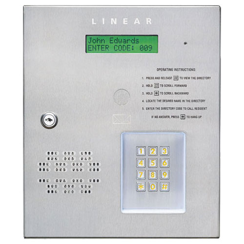 Linear Door Entry System 28 Images Linear Re 1 Telephone Entry