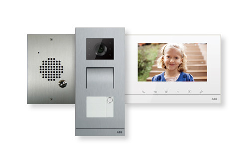 Home intercom systems wired wireless intercom systems for Front door video intercom