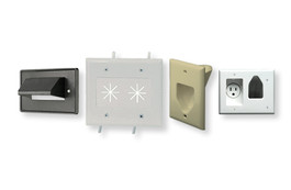 Cable Access Wallplates Inserts