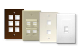 Multimedia Blank Wallplates