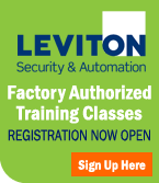 Leviton Security & Automation | Factory Authorized Training Classes: Registration is Now Open >> Sign Up Here!