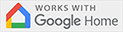 Works with Google Home, just sign in with your Google account