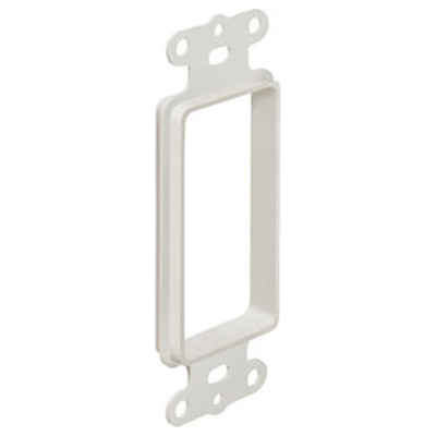 Arlington The SCOOP Pass-Through Cable Access Insert, 1-Gang
