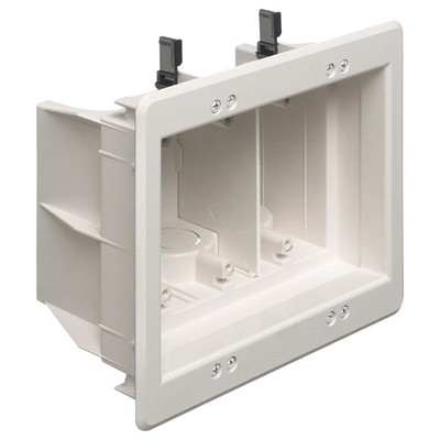 Arlington Recessed Indoor InBox, 3-Gang
