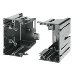 Arlington Gangable Low-Voltage Mounting Box, Screw-On