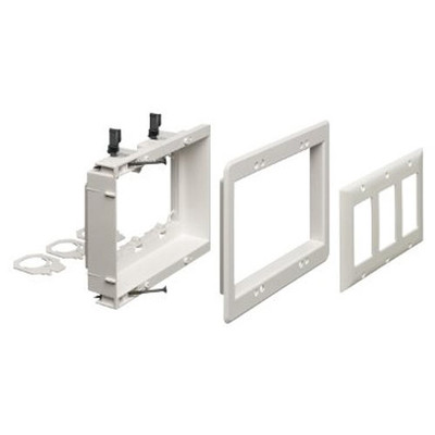 Arlington Recessed Low Voltage Bracket 3 Gang