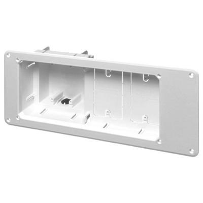 Arlington Recessed TV Box for Power & Low-Voltage