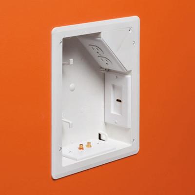 Arlington 8x10 Tv Box For Power Amp Low Voltage