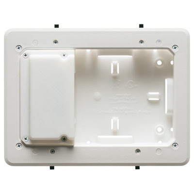 Arlington Low-Profile TV Box for Shallow Wall Depths