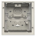 ABB-Welcome IP Flush-Mounted Box, Gray, 1 Gang
