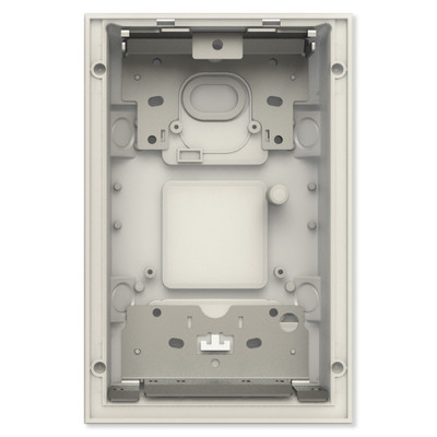 ABB-Welcome IP Flush-Mounted Box, Gray, 2 Gang