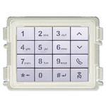 ABB-Welcome IP Keypad Module, White