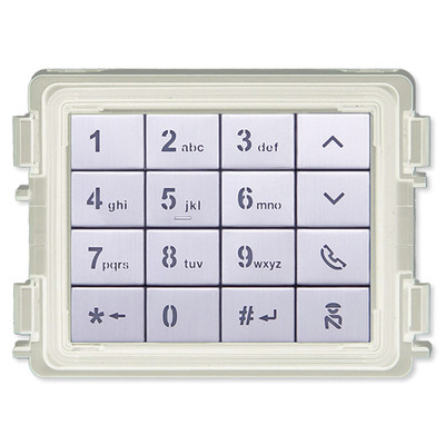 ABB-Welcome IP Keypad Module, White