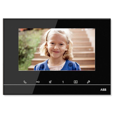 ABB-free@home Touch Indoor Video Station, 7 inch, Black