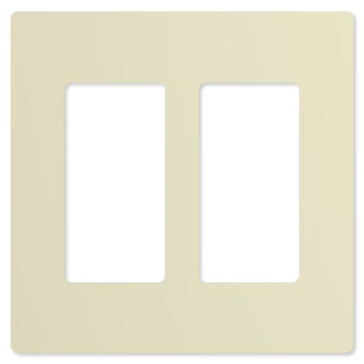 ABB-free@home Faceplate, 2-Gang,10 pack, Light Almond
