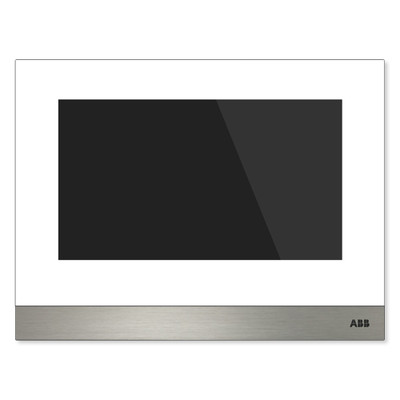 ABB-Welcome IP Touch 7 Basic, LAN + WiFi, with Induction Loop, White