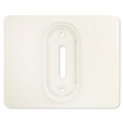 ABB-free@home Trim Plate for Thermostat, 5 pack, White
