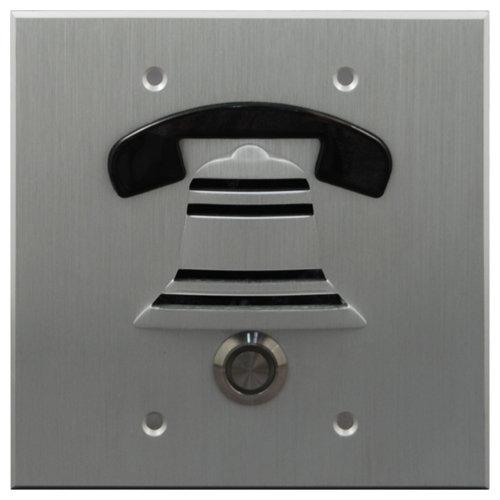DoorBell Fon DP38 Extra Door Station 2-Gang Masonry Box Mount & DoorBell Fon DP38 Extra Door Station Masonry Box