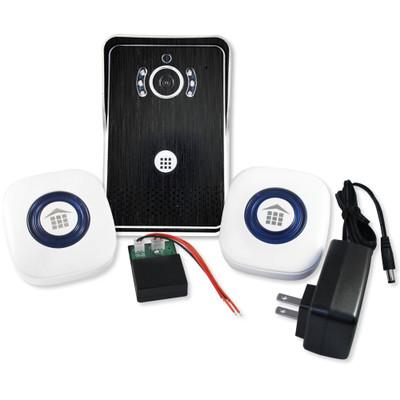 DoorBell Fon Wi-Fi Enabled Video iDoorbell Fon Kit, Black