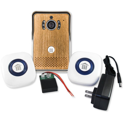 DoorBell Fon Wi-Fi Enabled Video iDoorbell Fon Kit, Bronze
