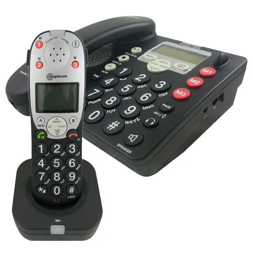 Amplicom PowerTel 780 Assure Amplified Corded Phone Kit