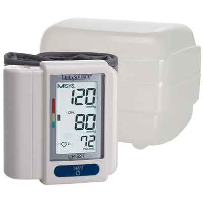 A&D LifeSource Digital Wrist Blood Pressure Monitor