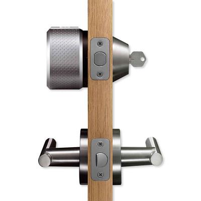 August Smart Lock Pro, Silver