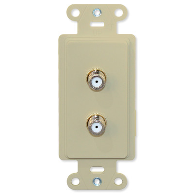 Advanced Dynamics Splitter/Wallplate Pro Insert, Ivory