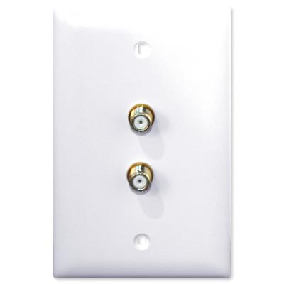 Advanced Dynamics Splitter/Wallplate Pro Original, Antronix Splitter Approved, White