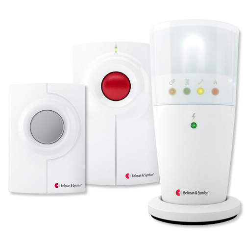 Bellman & Symfon Visit Kit with Flash Receiver for Phone & Doorbell