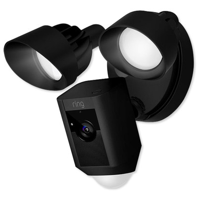 Ring Floodlight Cam, Black