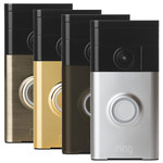 Ring Wi-Fi Enabled Video Doorbell, Antique Brass
