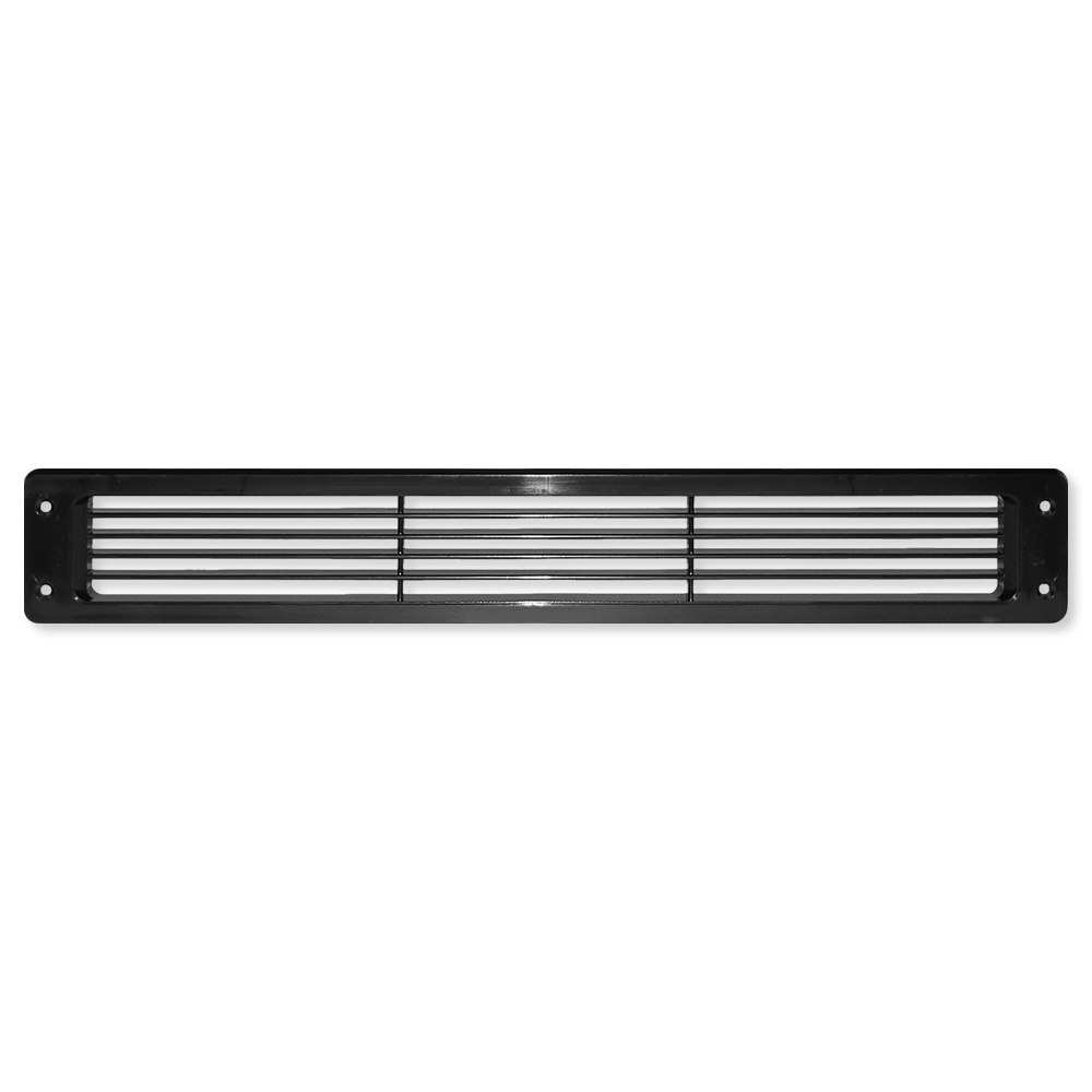 Cool Components Grill for Narrow 2x15.5 In. Openings, White