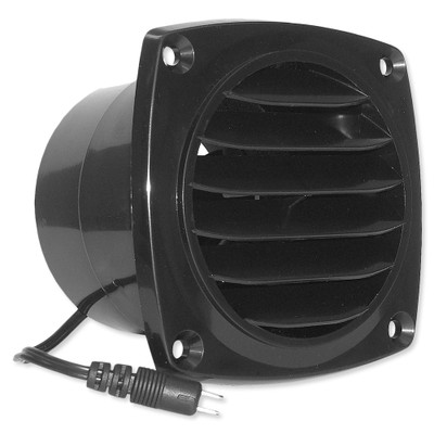 Cool Components Cabinet Vent, Black