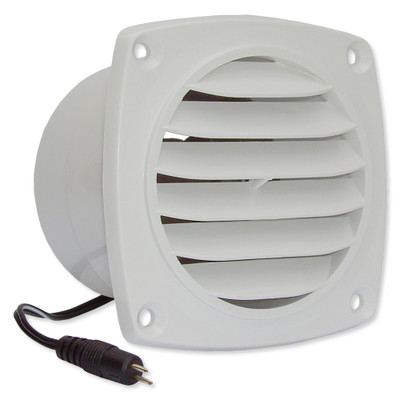 Cool Components Cabinet Vent, White
