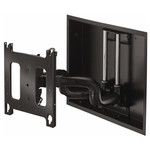 Chief P Series Low-Profile In-Wall Swing Arm Wall Display Mount, 22 In. Extension