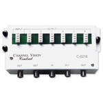 Channel Vision 1x6 110 Phone & 1x4 Coax Video Combo Module