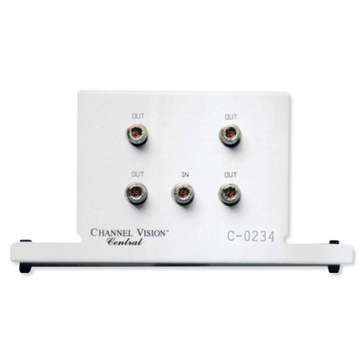 Channel Vision High Frequency Splitter, 5-2300MHz, 4-Way