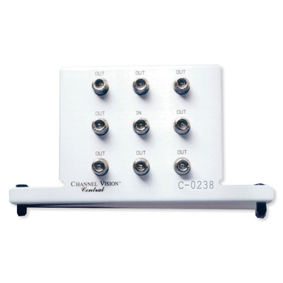Channel Vision High Frequency Splitter, 5-2300MHz, 8-Way
