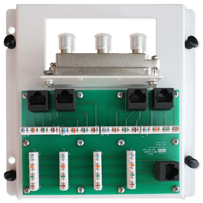 Channel Vision Audio Video Intercoms Home Controls Structured Wiring Whole 4x4x4 Combo Module
