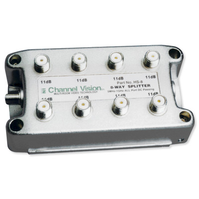 Channel Vision Splitter/Combiner, 1GHz, DC, 8-Way