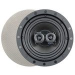 Channel Vision 8 In. Soprano ARIA Single Point Stereo In-Ceiling Frameless Speaker