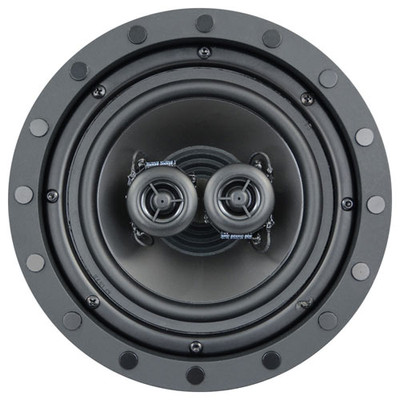Channel Vision 8 In. Soprano ARIA Single Point Stereo In-Ceiling Frameless Speaker