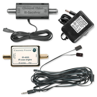 Channel Vision Coax IR Starter Kit