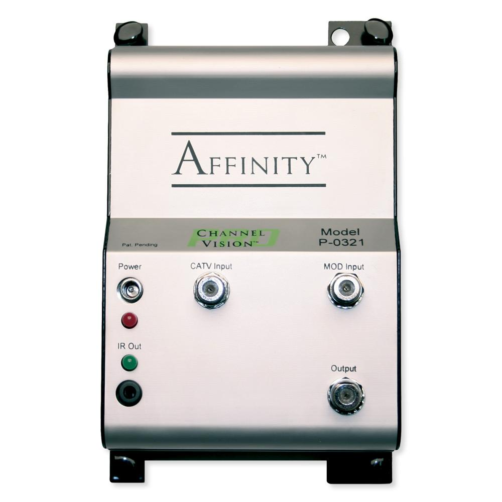 Channel Vision Affinity 2x1 RF Combiner with IR Controlled Switch
