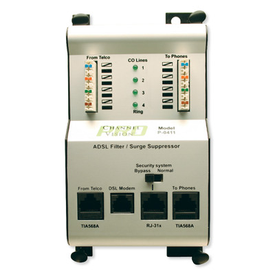 Channel Vision DSL Filter & Phone Surge Protection Module