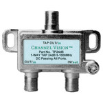 Channel Vision Line Tap 1dB Loss, DC Pass, 24dB