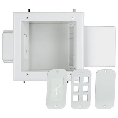 DataComm Expandable Media Box with Duplex Receptacle