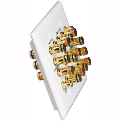 DataComm 7.2 Surround Sound Home Theater Wallplate