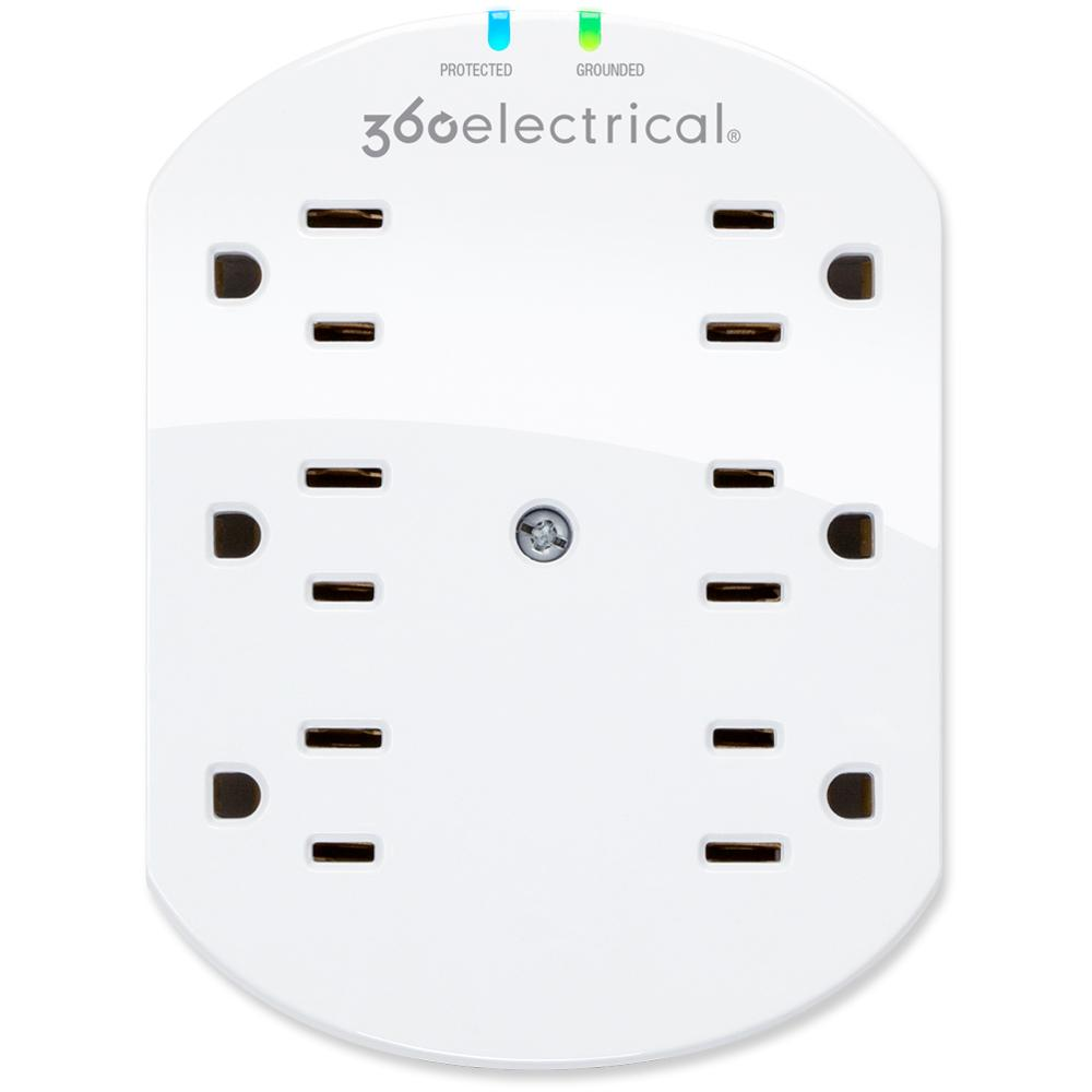 360 Electrical Loft 6-Outlet Surge Protector